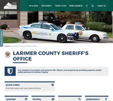 Larimer County Sheriff's Department Competitors, Revenue and