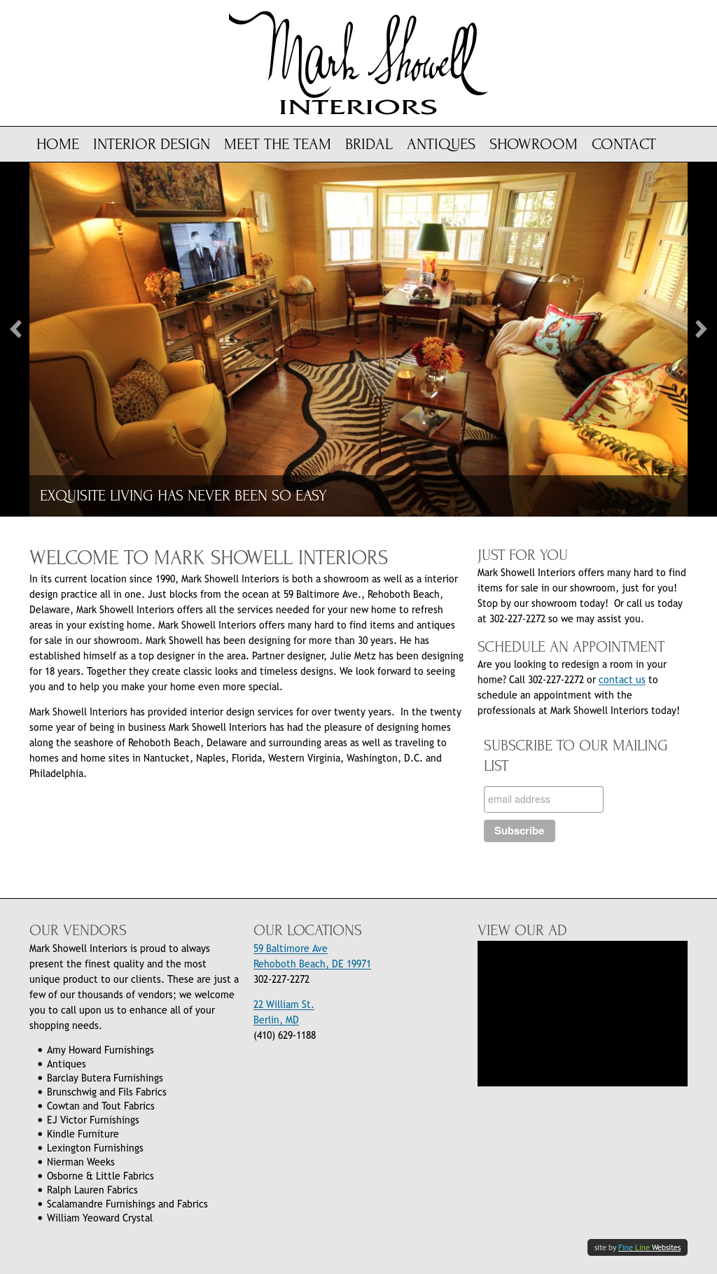 Mark Showell Interiors Compeors Revenue And Employees Owler Company Profile