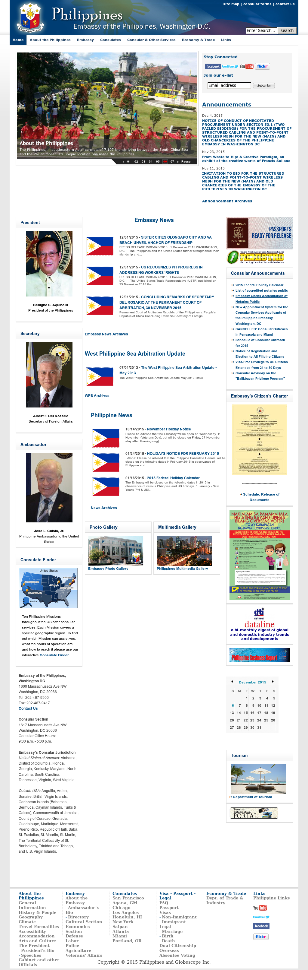 Philippines Embassy Competitors, Revenue and Employees