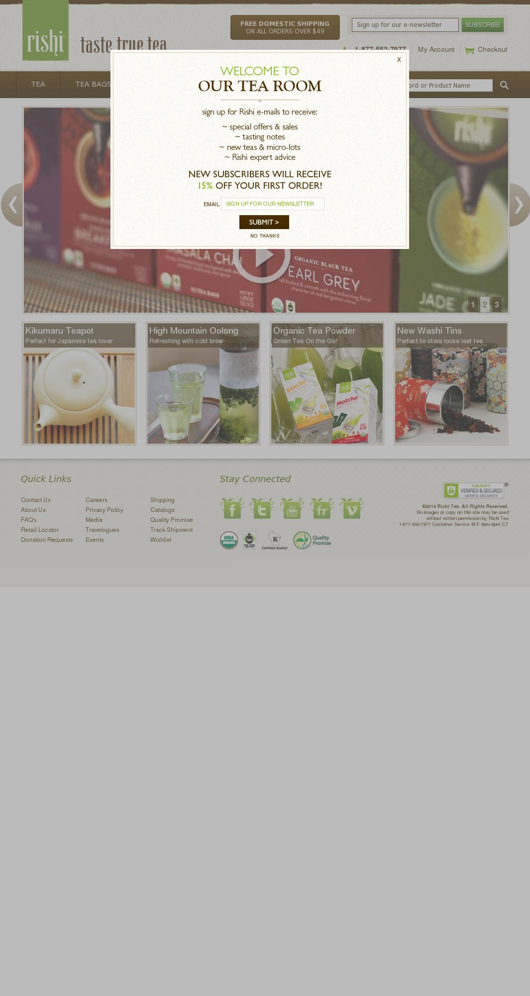 Rishi Tea Competitors, Revenue and Employees - Owler Company Profile