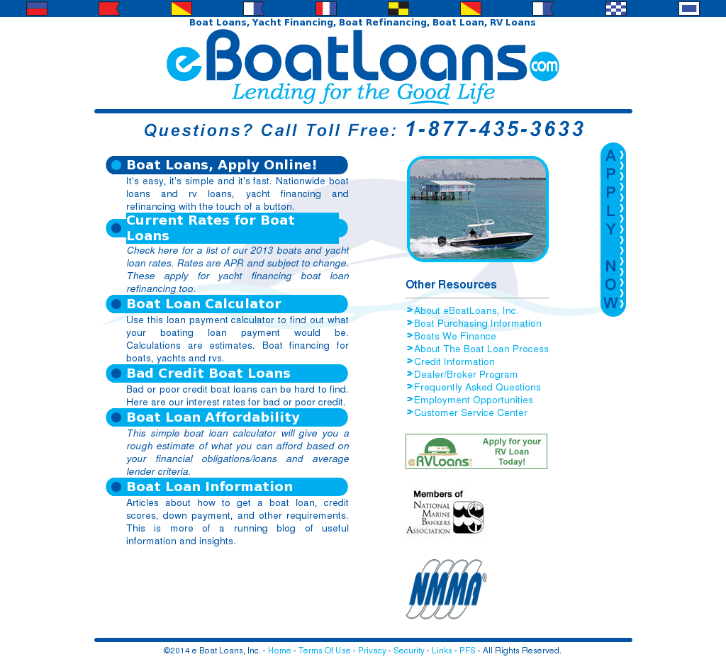 E Boat Loans Competitors Revenue And Employees Owler