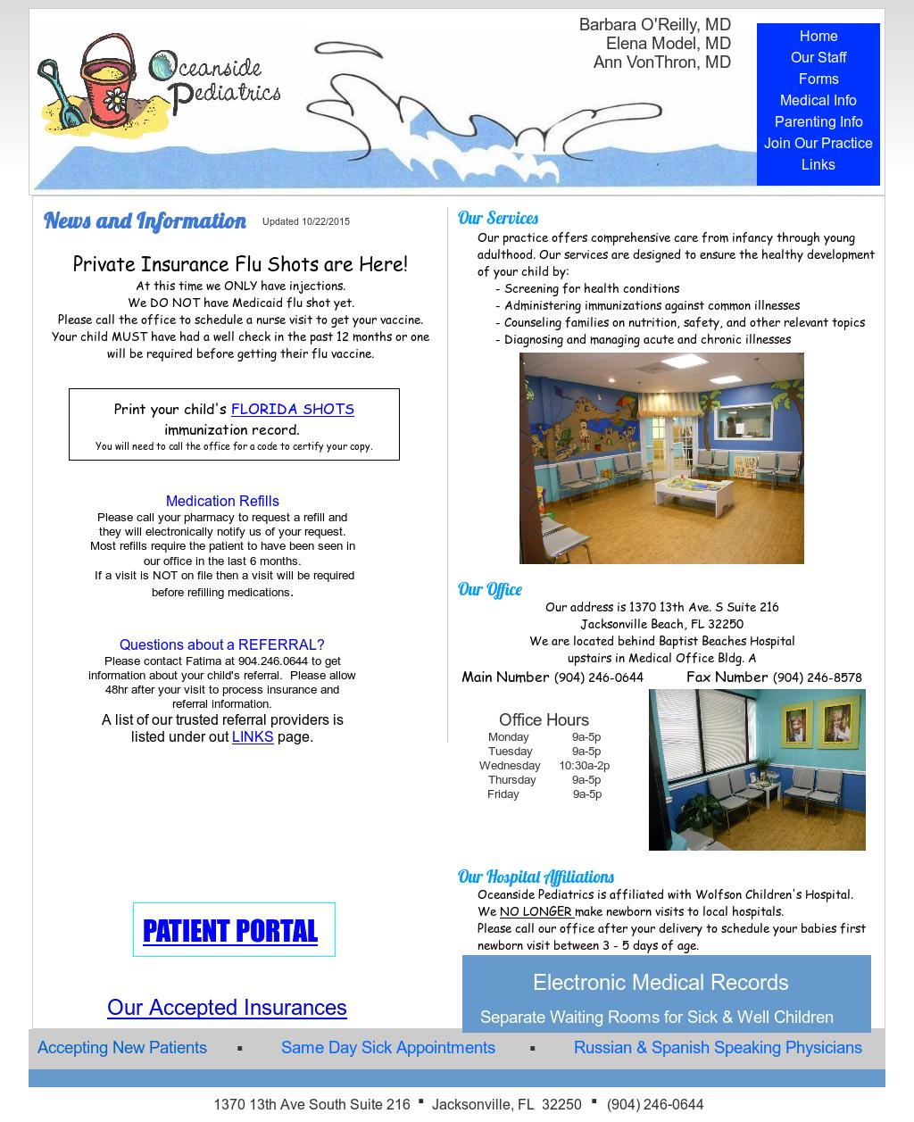 Oceanside Pediatrics Competitors, Revenue and Employees