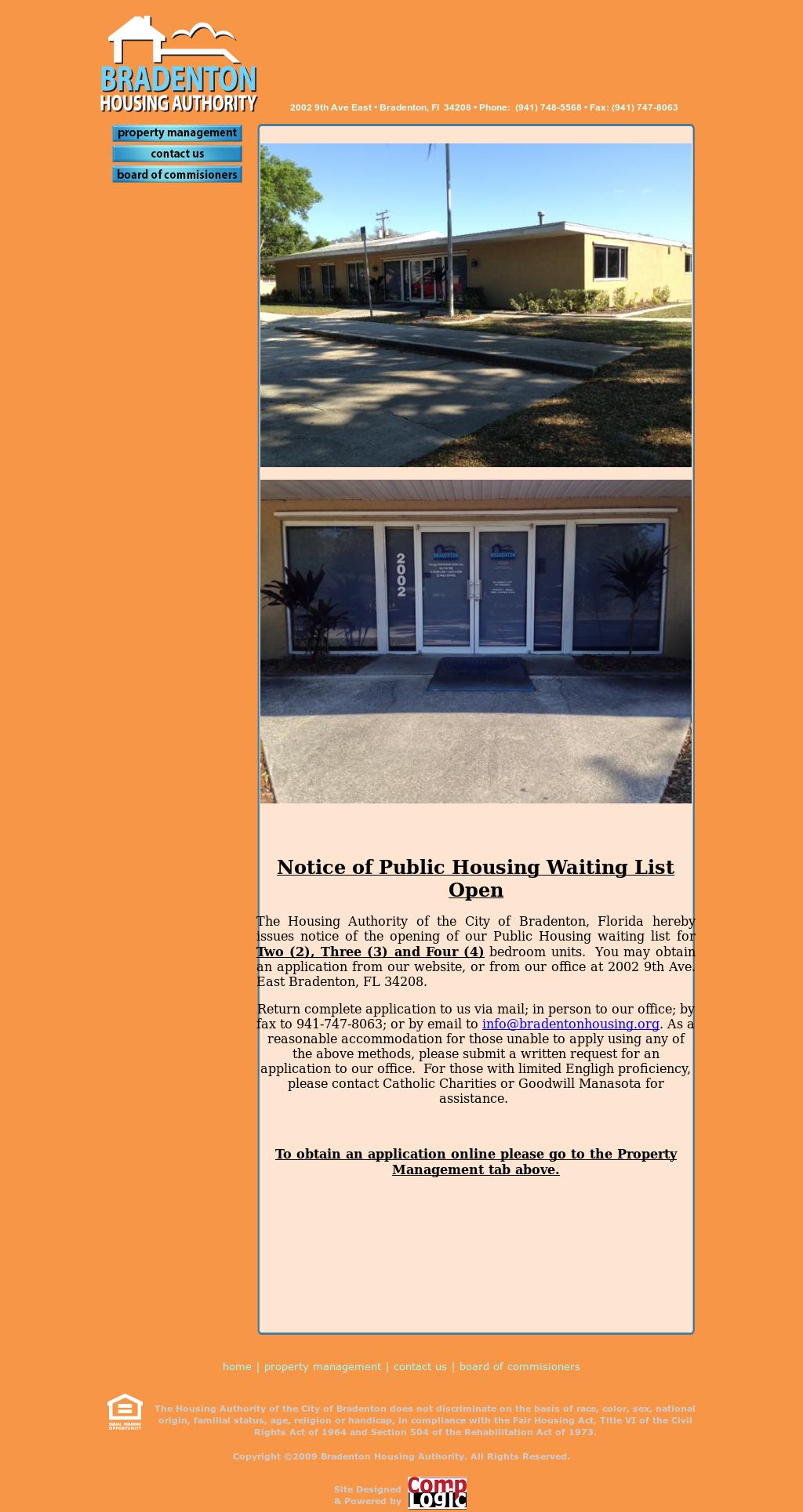 BRADENTON HOUSING AUTHORITY Competitors, Revenue and Employees