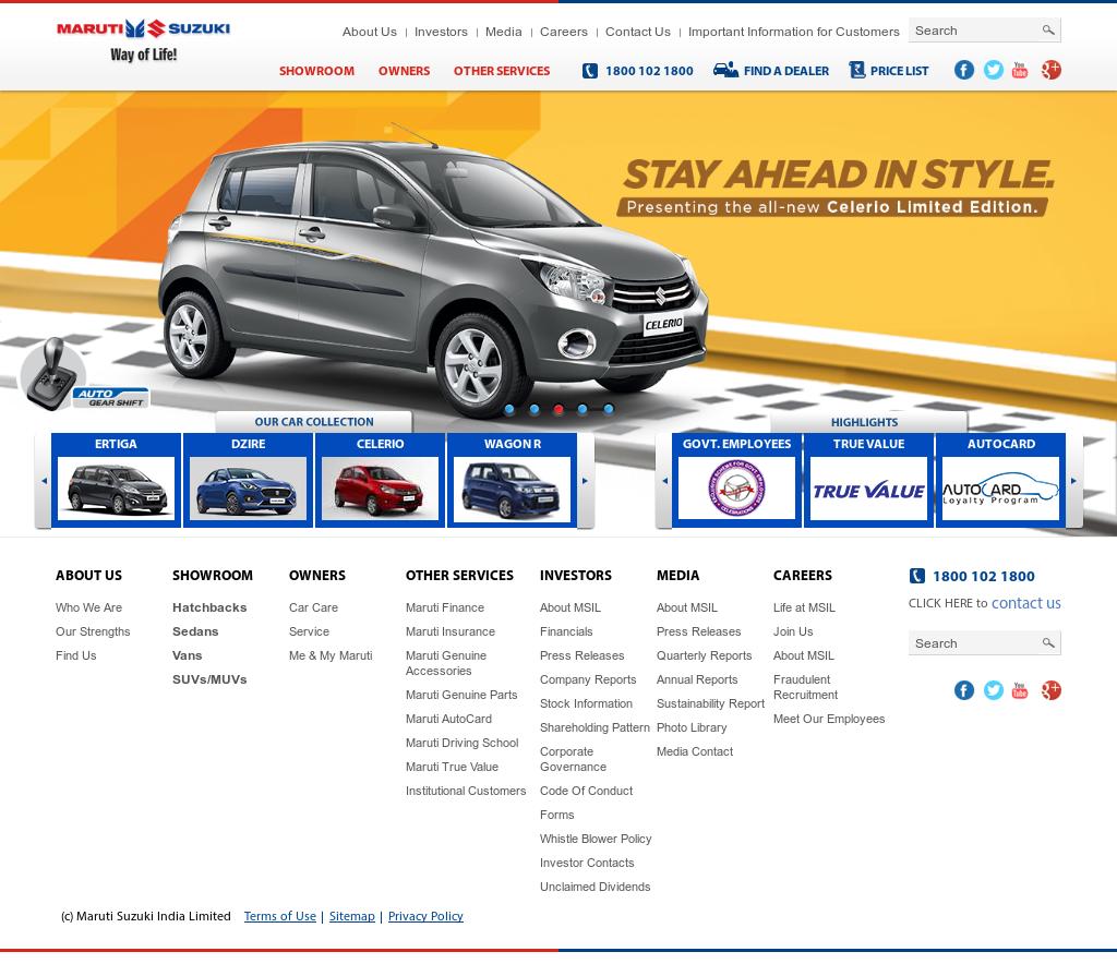 Maruti Suzuki Competitors, Revenue and Employees - Owler