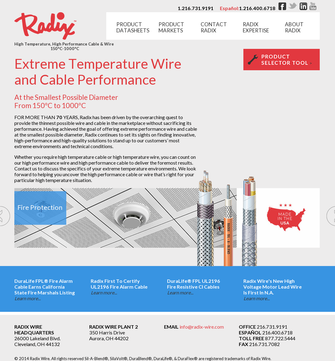 Radix Wire Company Data Schema Supplies Gt Ac Dc Safe Constant Current Source L13603 Nextgr Competitors Revenue And Employees Owler Profile Rh Com High Temp Tggt