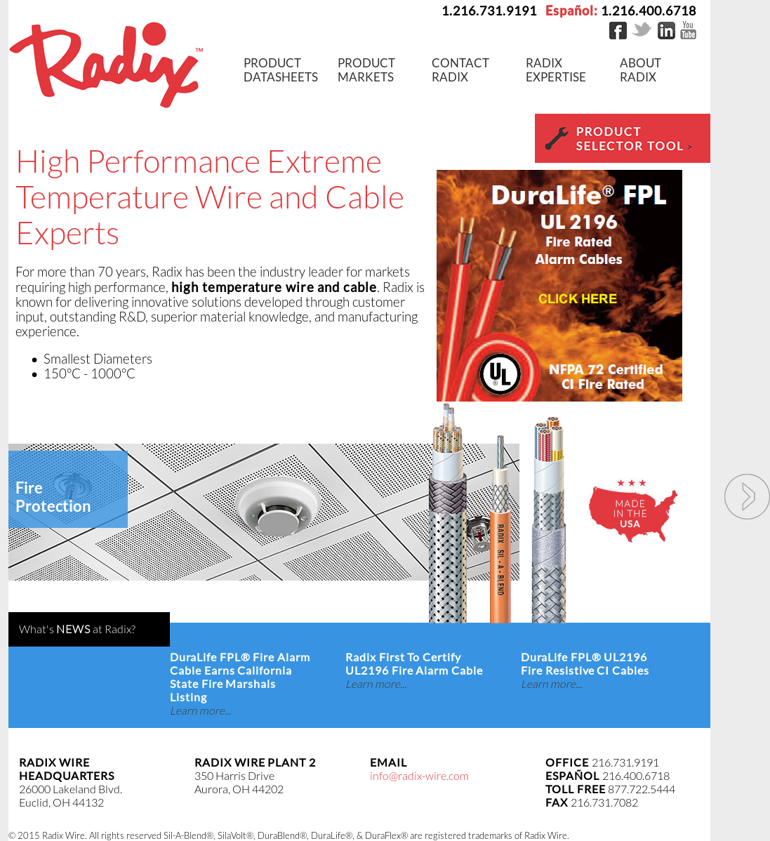 Radix Wire Company Data Schema Supplies Gt Ac Dc Safe Constant Current Source L13603 Nextgr Competitors Revenue And Employees Owler Profile Rh Com Tggt High Heat Electrical