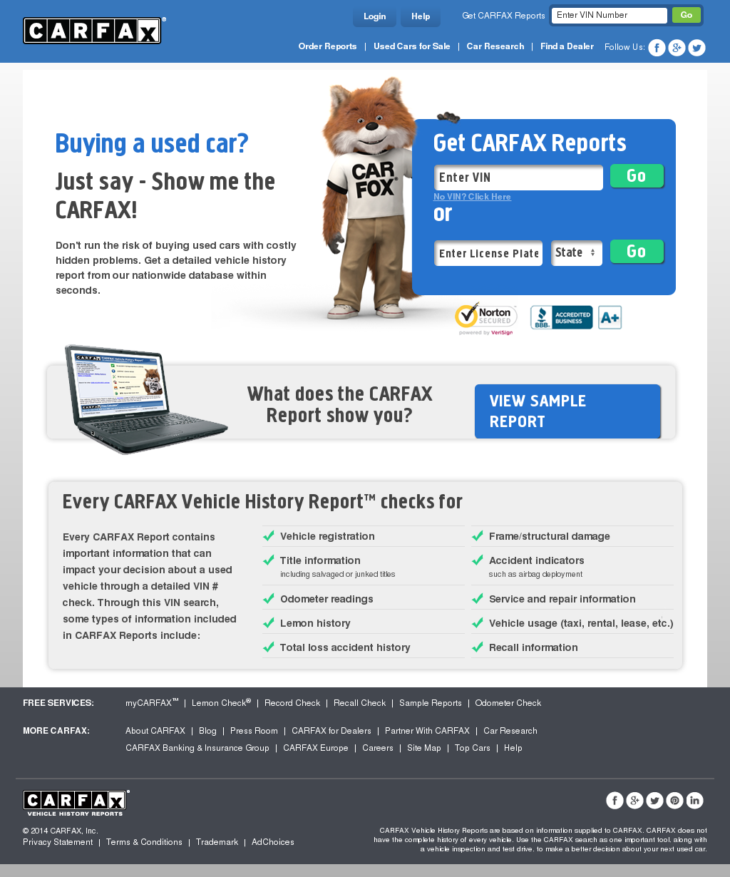 Carfax Competitors Revenue And Employees Owler Company Profile