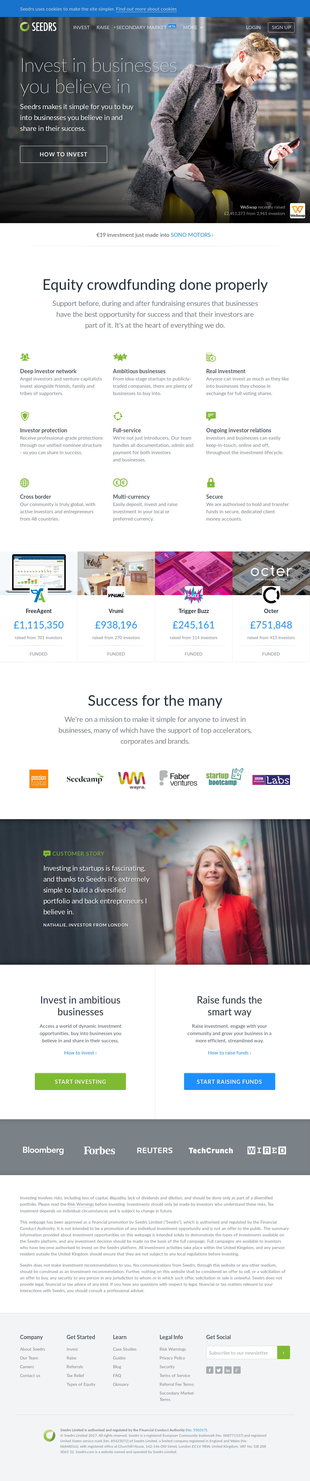 Seedrs Competitors, Revenue and Employees - Owler Company Profile