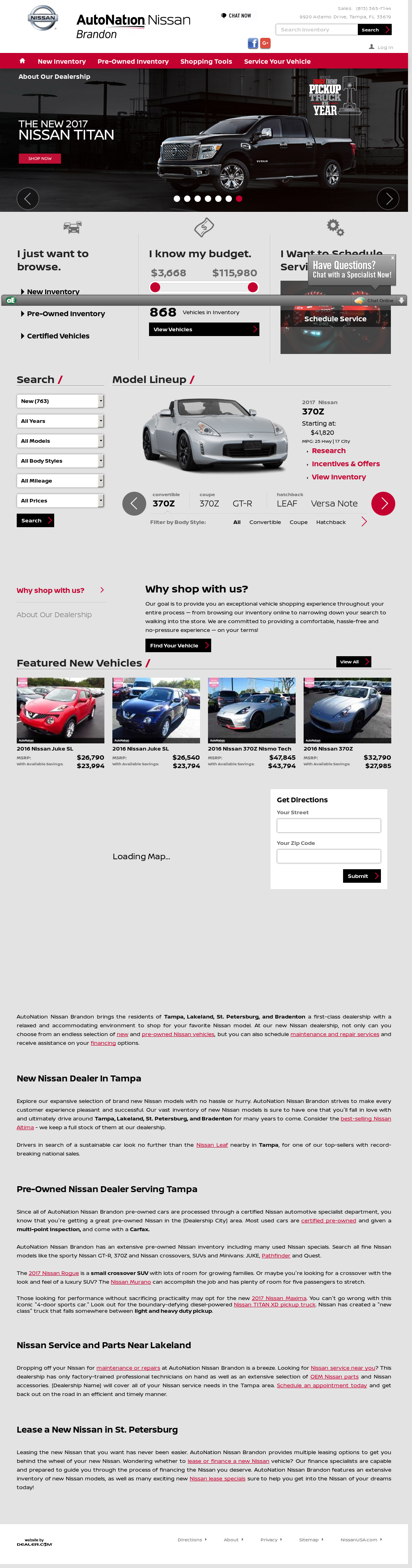 Lovely AutoWay Nissan Of Brandon Website History
