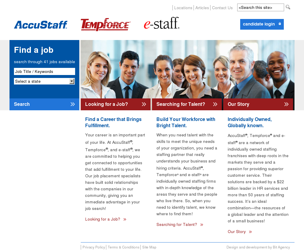 Accustaff Tempforce Estaff Competitors, Revenue and