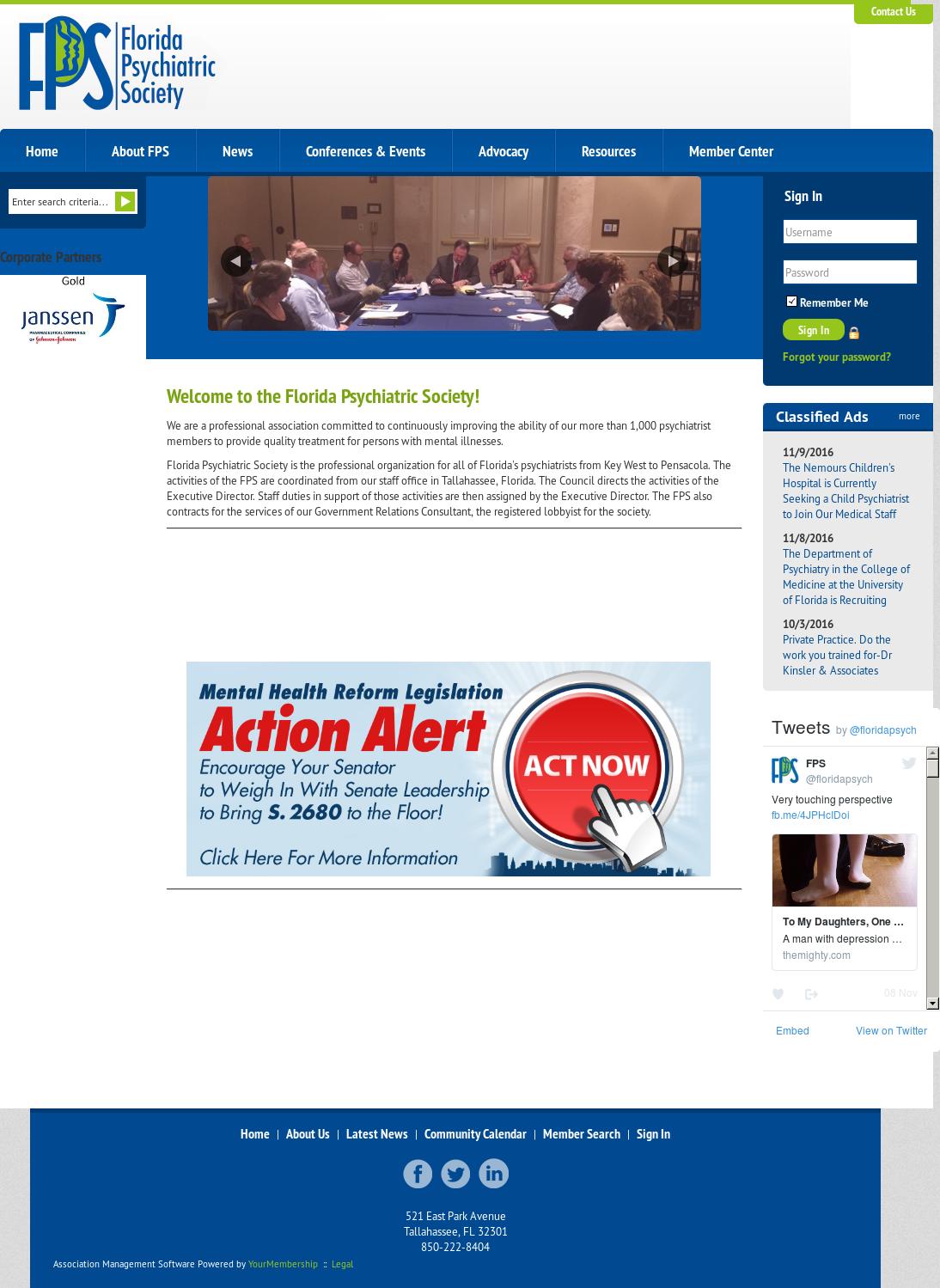 Florida Psychiatric Society Competitors, Revenue and