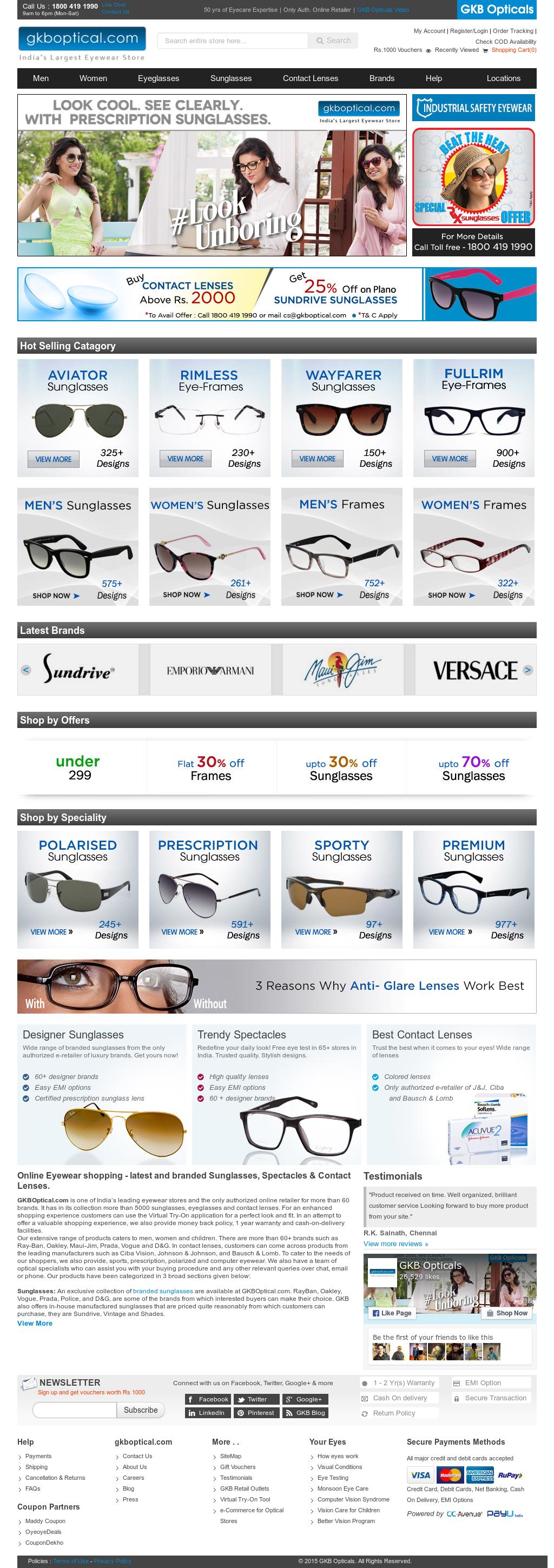 7951803d2453 GKB Opticals Competitors