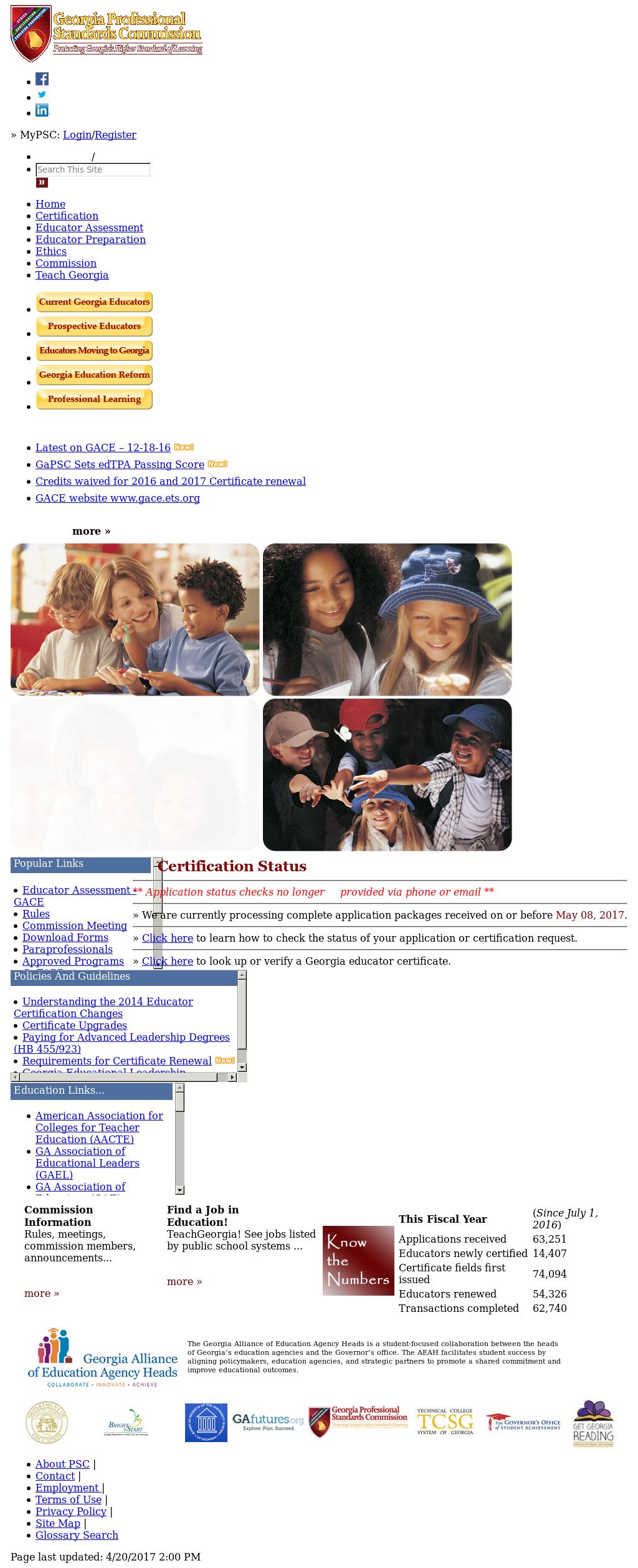 Georgia Professional Standards Commission Competitors Revenue And