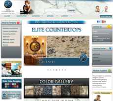 Elite Countertops Website History