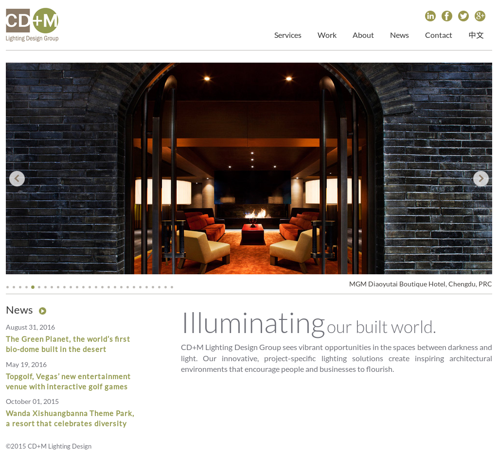 Cd M Lighting Design Group Compeors Revenue And