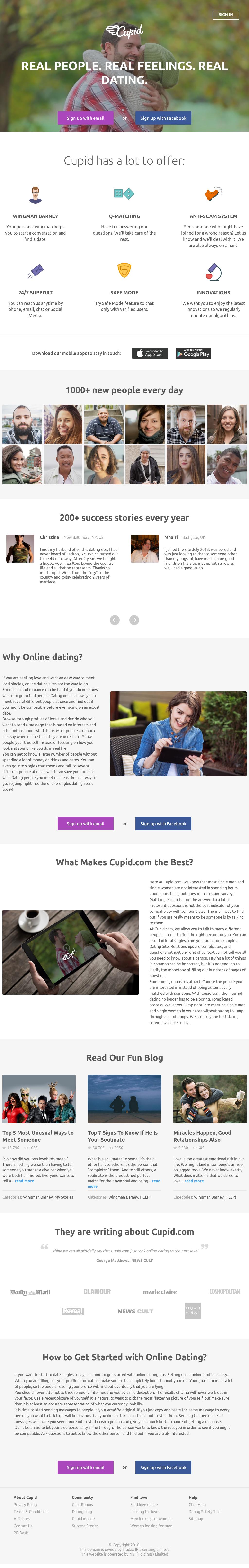 cupid website