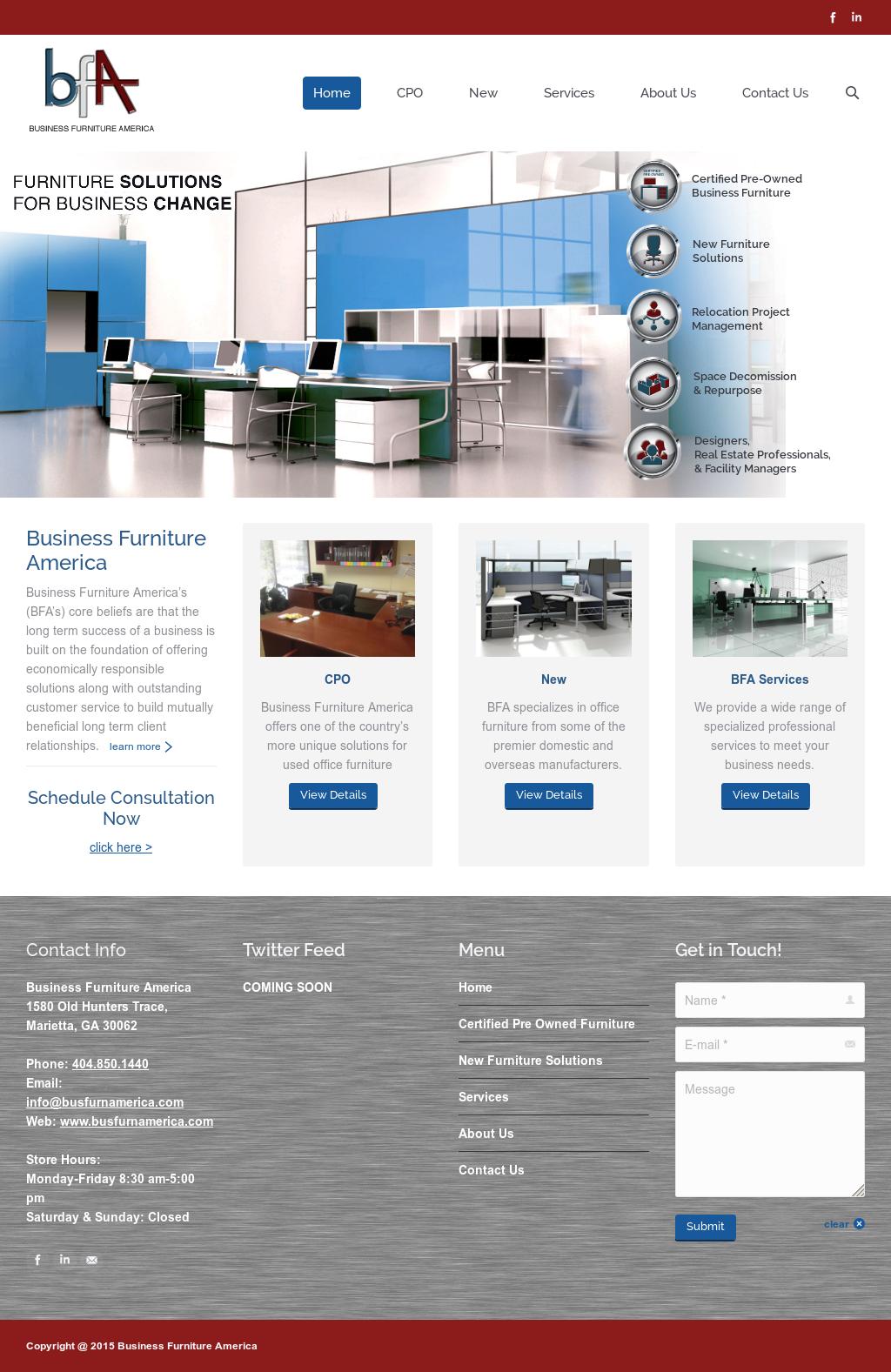 Business Furnitire America Competitors Revenue And