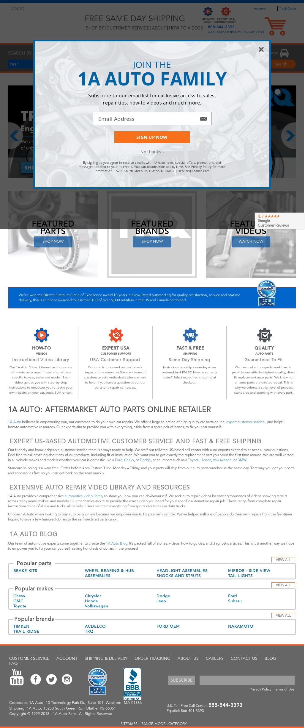 1a Auto Competitors Revenue And Employees Owler Company Profile