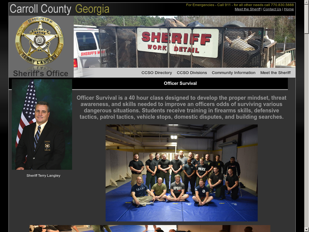 Carroll County Sheriff's Office Competitors, Revenue and