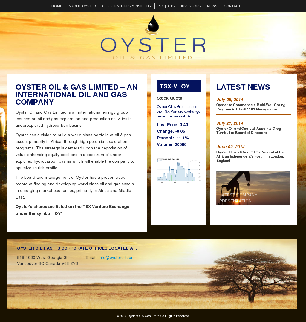 Oyster Oil & Gas Competitors, Revenue and Employees - Owler Company