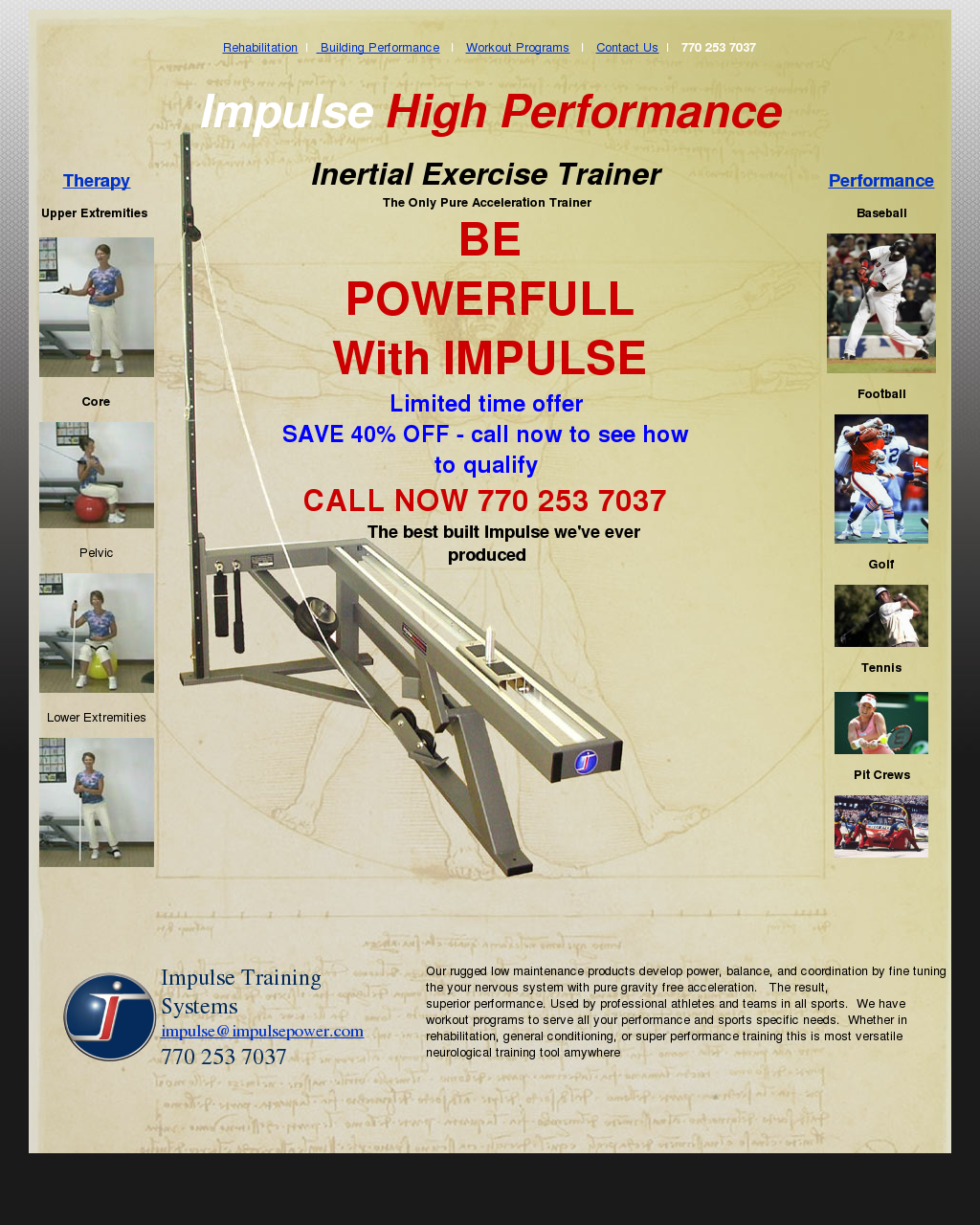 Impulse Training Systems Competitors, Revenue and Employees - Owler