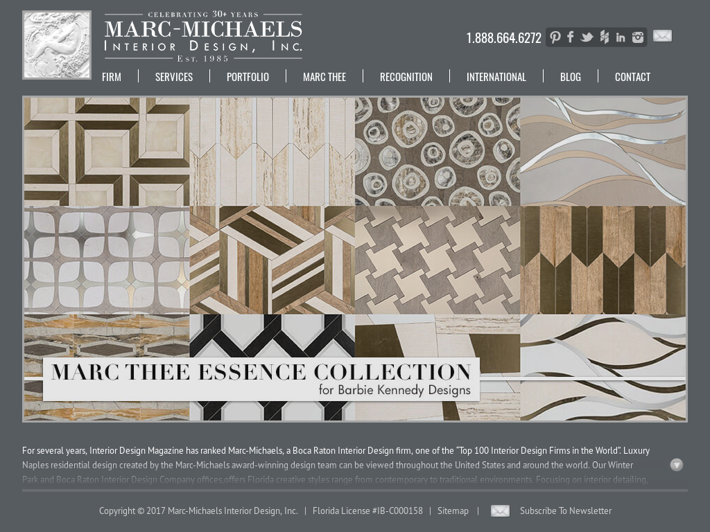 Marc Michaels Interior Design Competitors Revenue And Employees