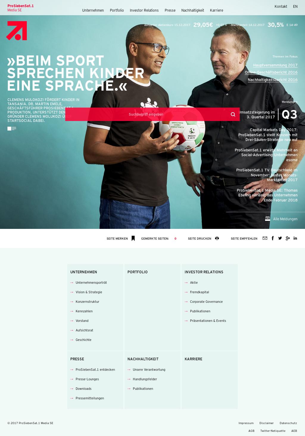 ProSiebenSat 1 Competitors, Revenue and Employees - Owler