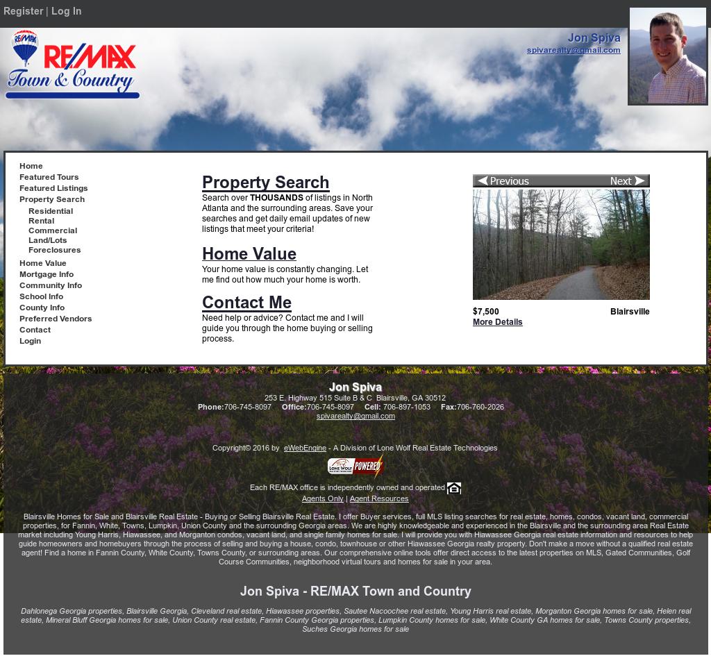 Blairsville Realty, Inc  - Jon Spiva Competitors, Revenue