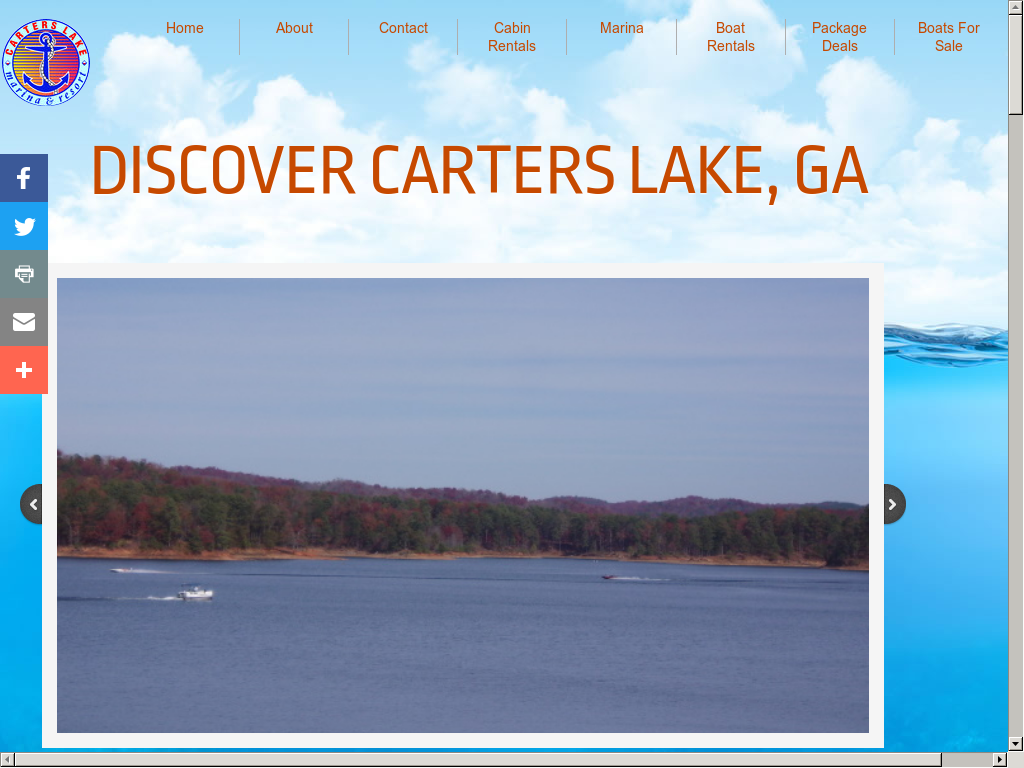 Carters Lake Marina Resort Competitors Revenue And Employees