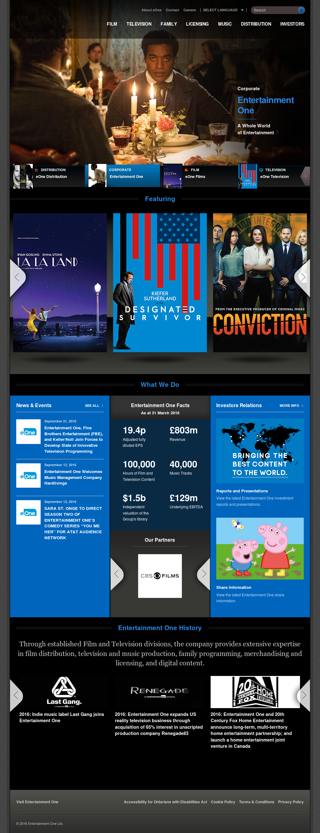 eOne Competitors, Revenue and Employees - Owler Company Profile