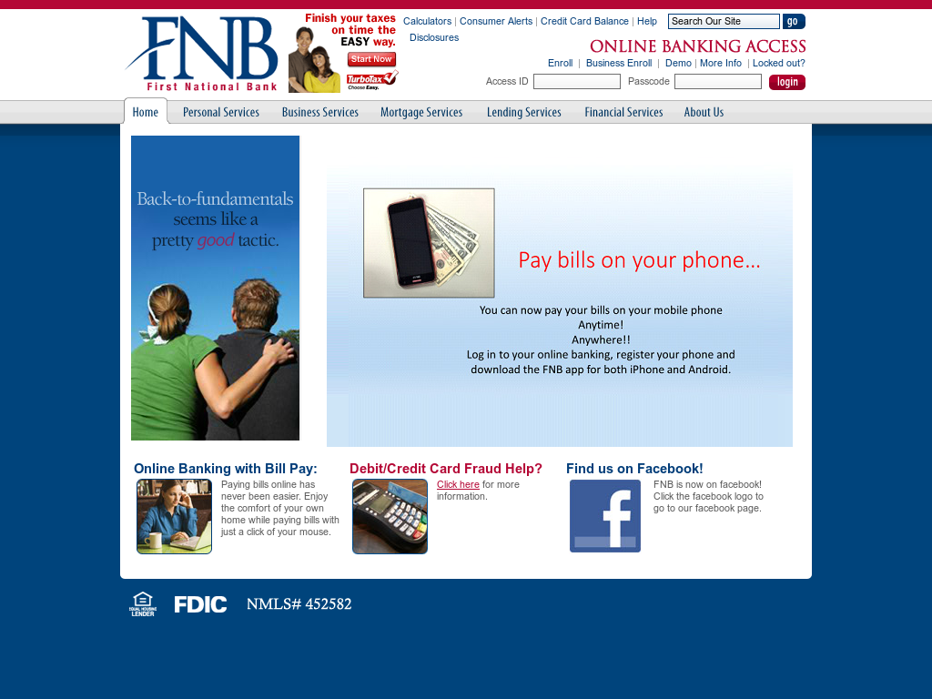 First National Bank-Griffin Competitors, Revenue and