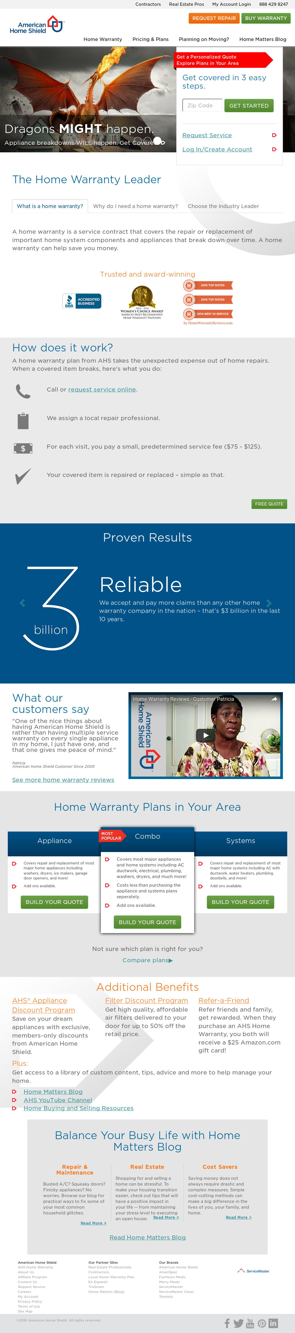 Choice Home Warranty Vendor Login >> Ahs Competitors Revenue And Employees Owler Company Profile