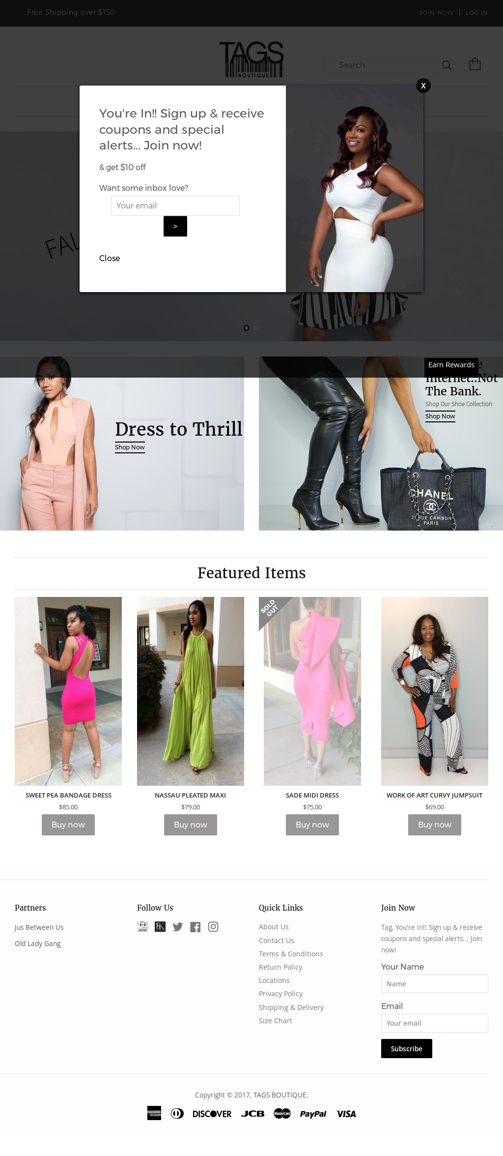 Tags Boutique Competitors, Revenue and Employees - Owler