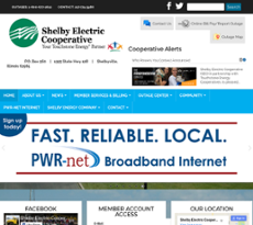 Shelby Electric Cooperative Compeors Revenue And Employees Owler Company Profile