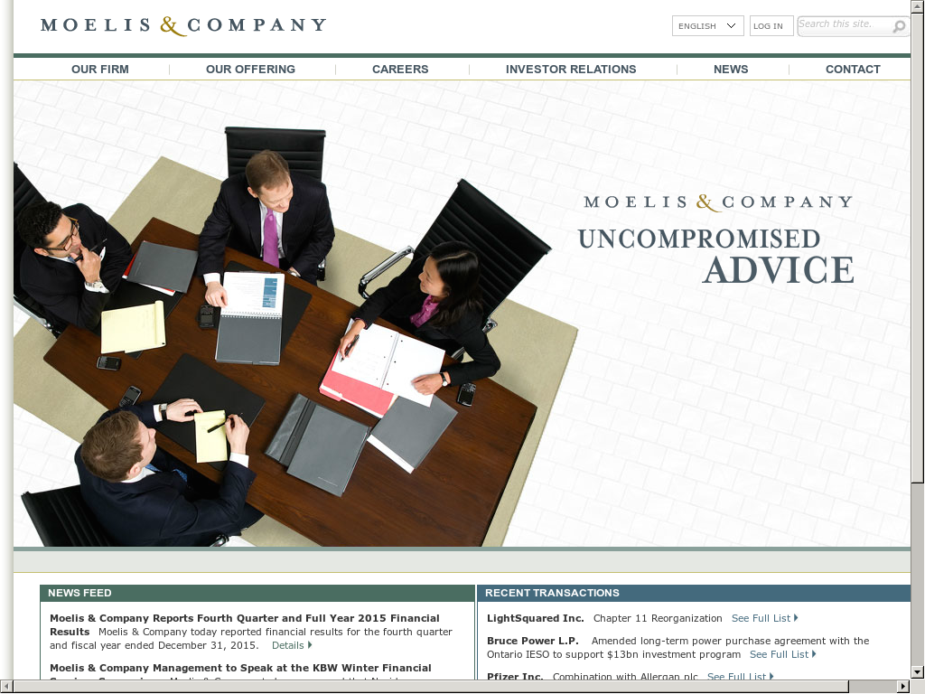 Moelis & Company Competitors, Revenue and Employees - Owler Company