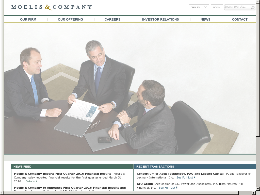 Moelis & Company Competitors, Revenue and Employees - Owler