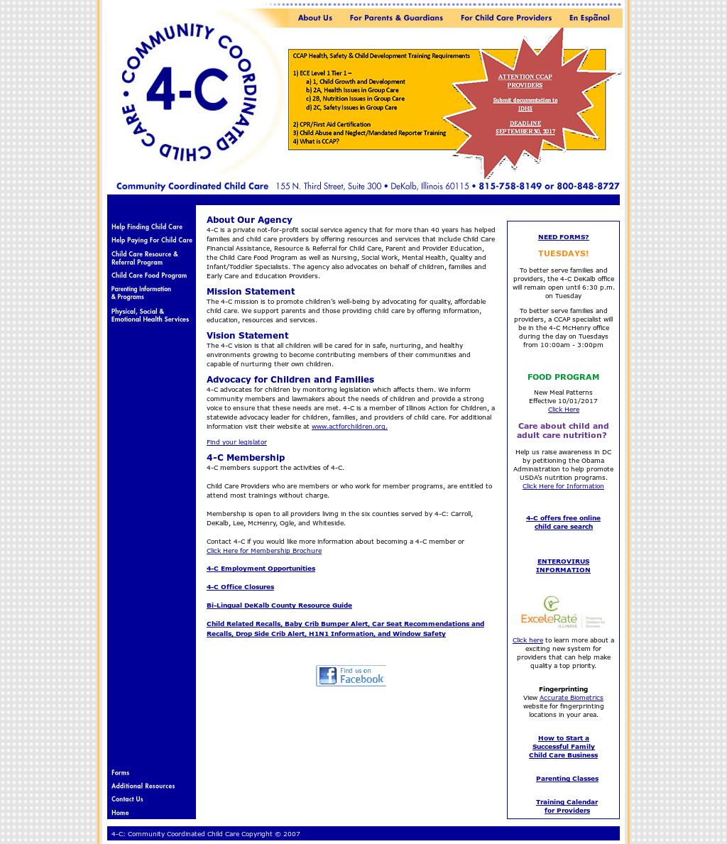 Community Coordinated Child Care 4 C Competitors Revenue And