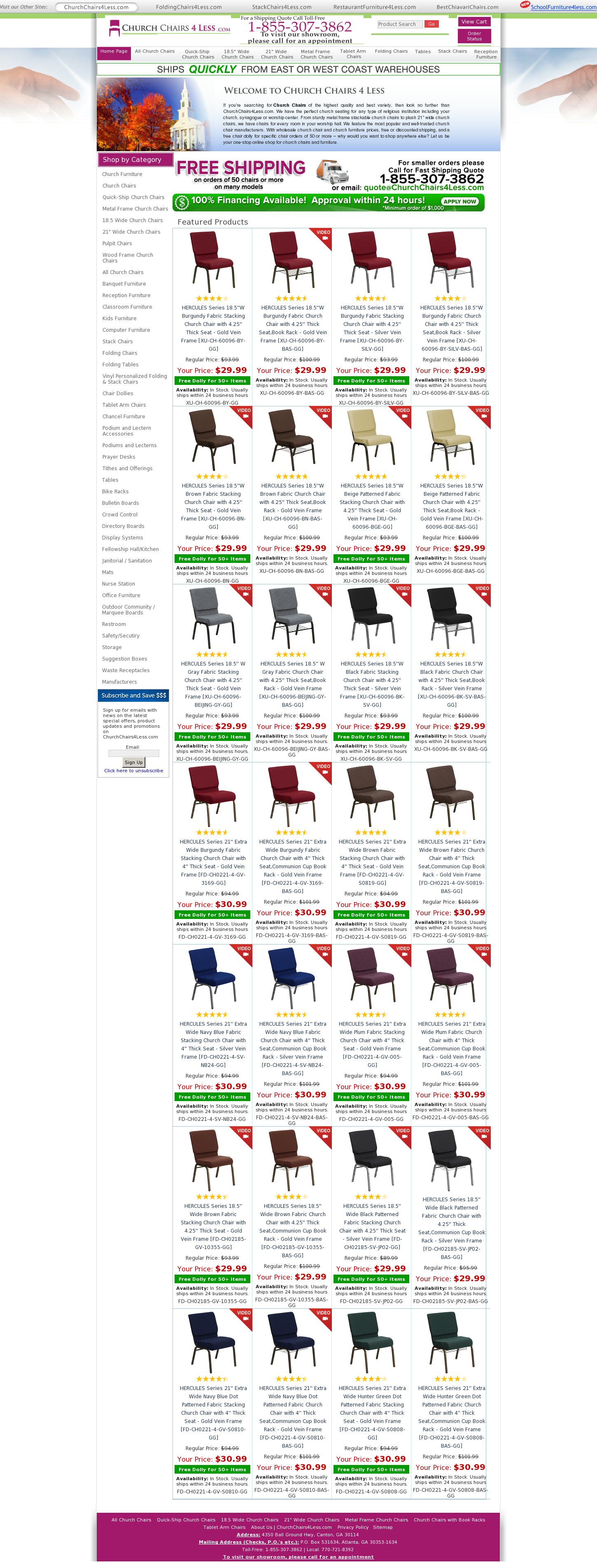 Churchchairs4Less Competitors, Revenue And Employees   Owler Company Profile