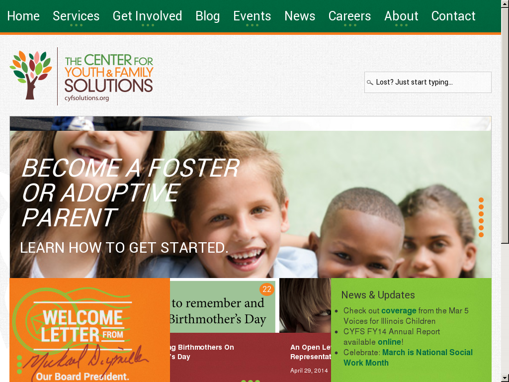 The Centre For Youth And Family Solutions Competitors Revenue And