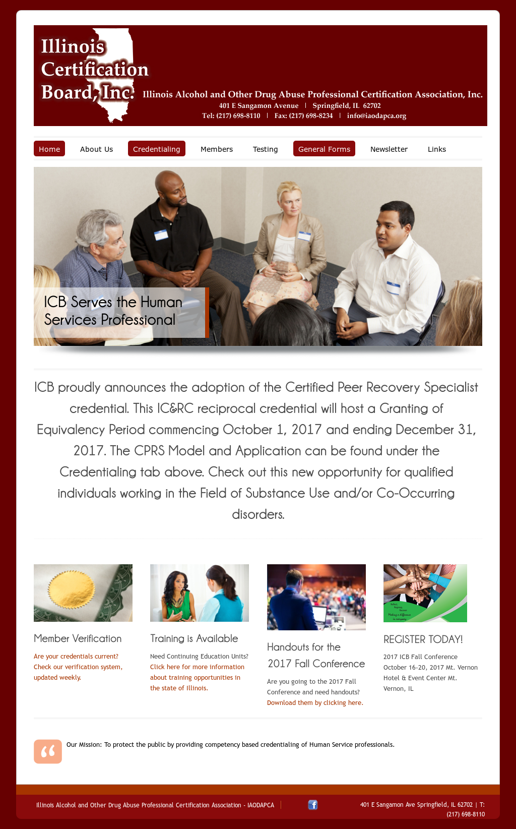 Illinois Alcohol And Other Drug Abuse Professional Certification