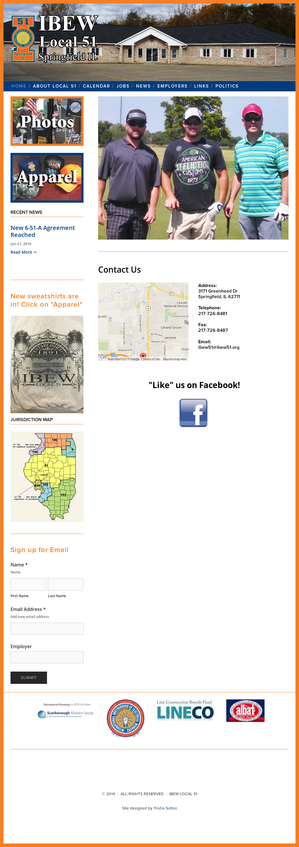 Ibew Illinois Map.Ibew Local 51 International Brotherhood Of Electrical Workers