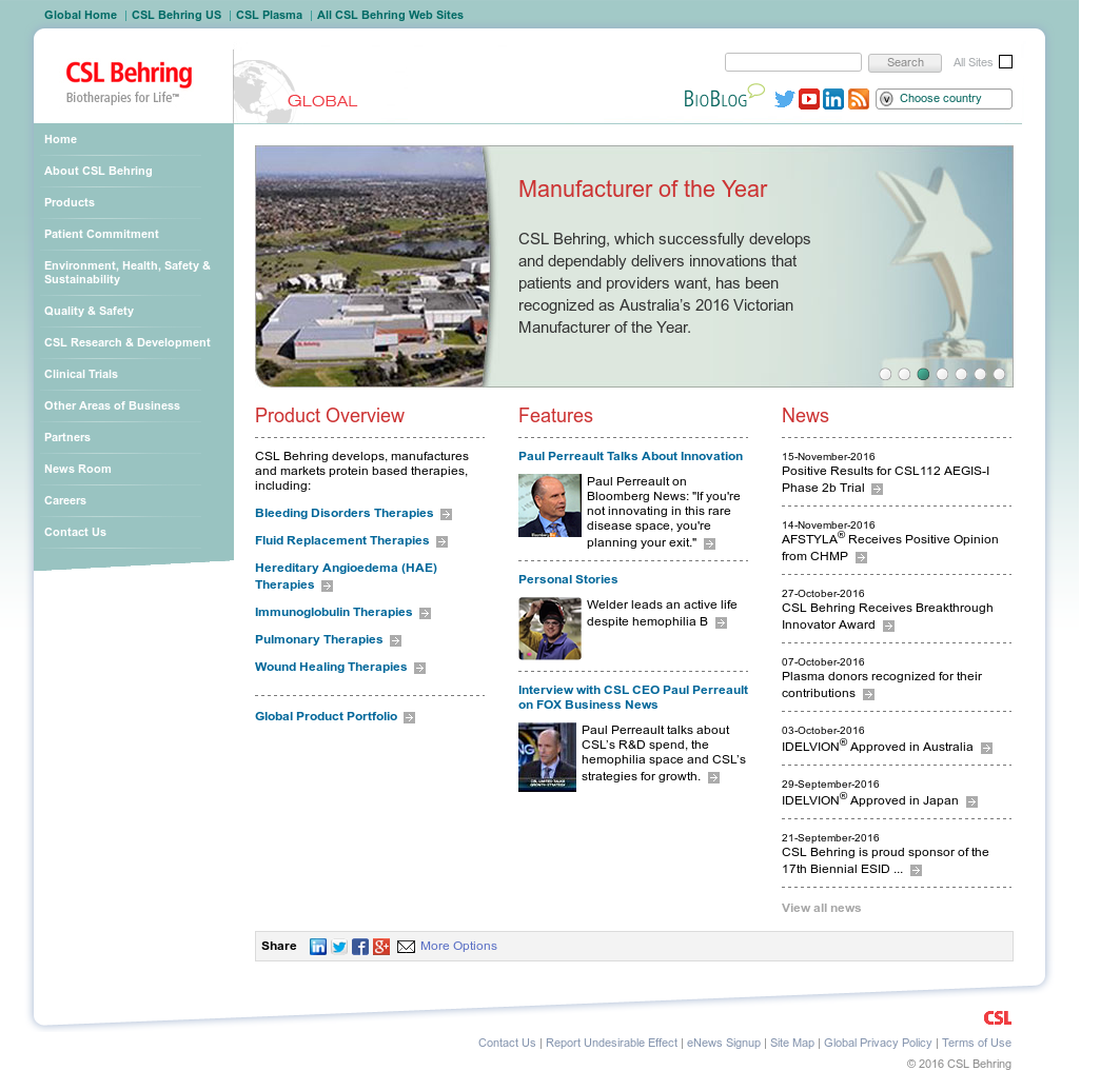 CSL Competitors, Revenue and Employees - Owler Company Profile
