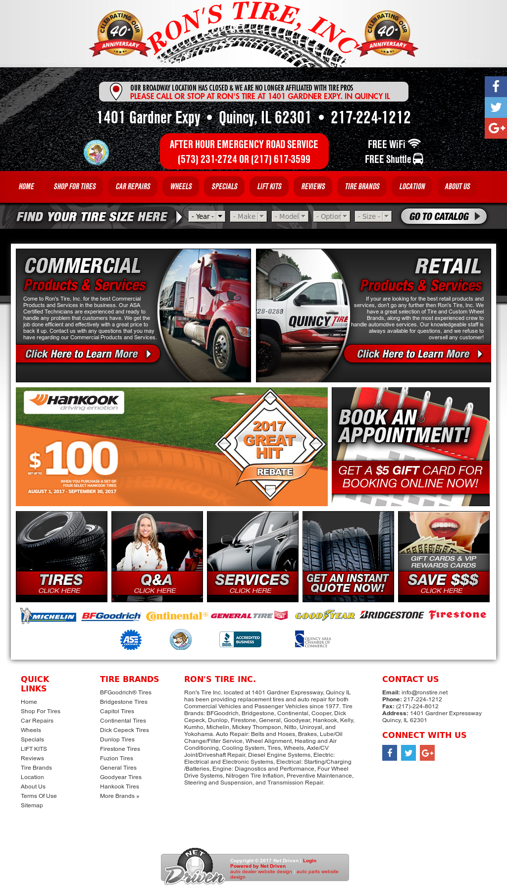Ron S Tire Competitors Revenue And Employees Owler Company Profile