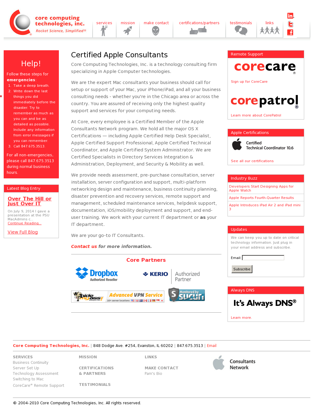 Core Computing Technologies Competitors Revenue And Employees