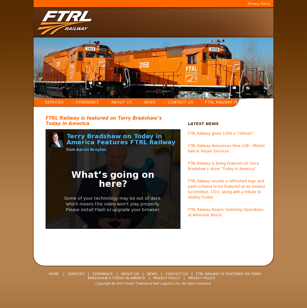 Foster Townsend Rail Logistics Competitors, Revenue and Employees