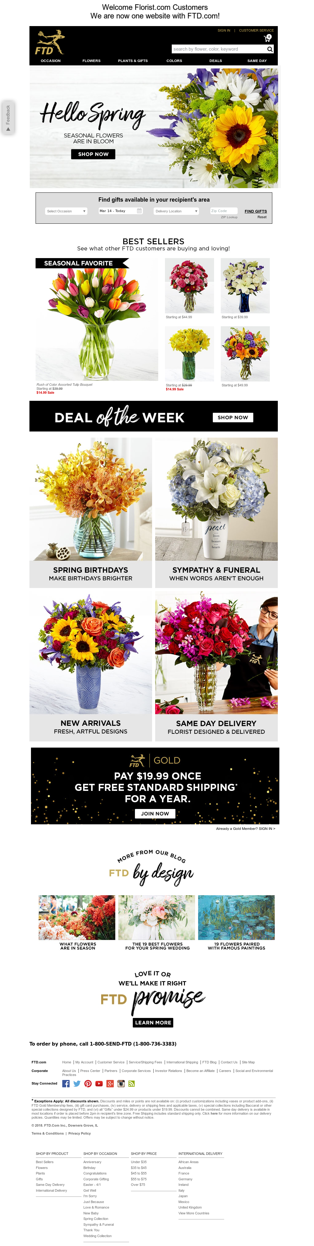 Florist Competitors Revenue And Employees Owler Company Profile