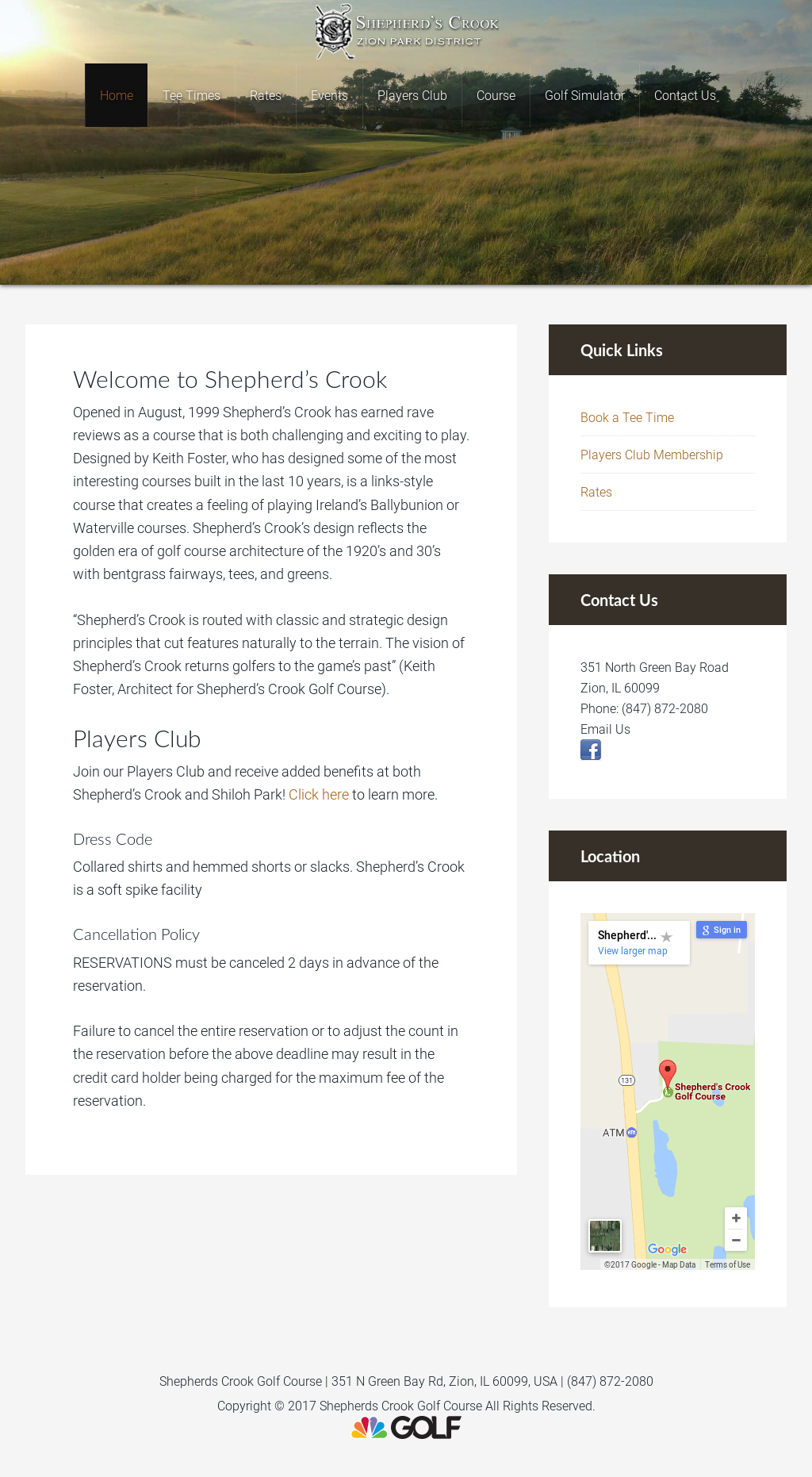 shepherds crook golf course Competitors, Revenue and