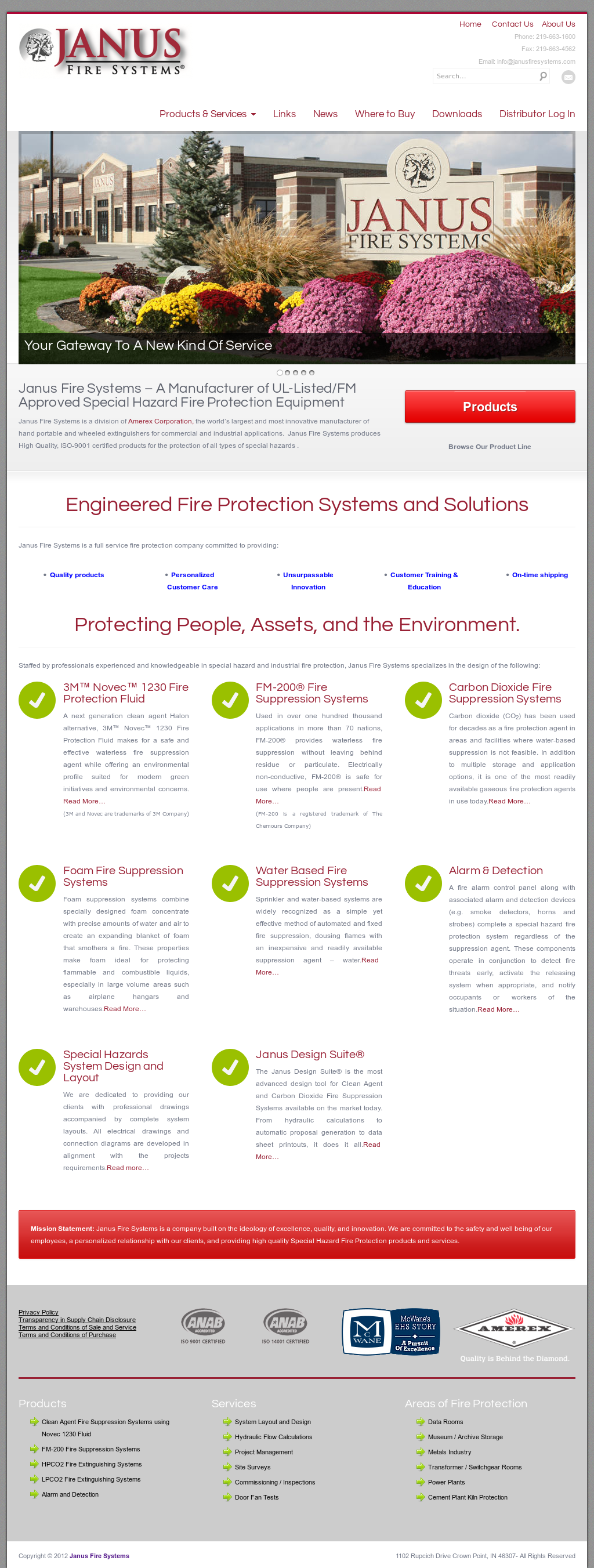 Janus Fire Systems Div Amerex Competitors, Revenue and