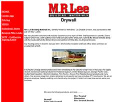 M r lee building materials company profile owler jul 2015 sciox Choice Image