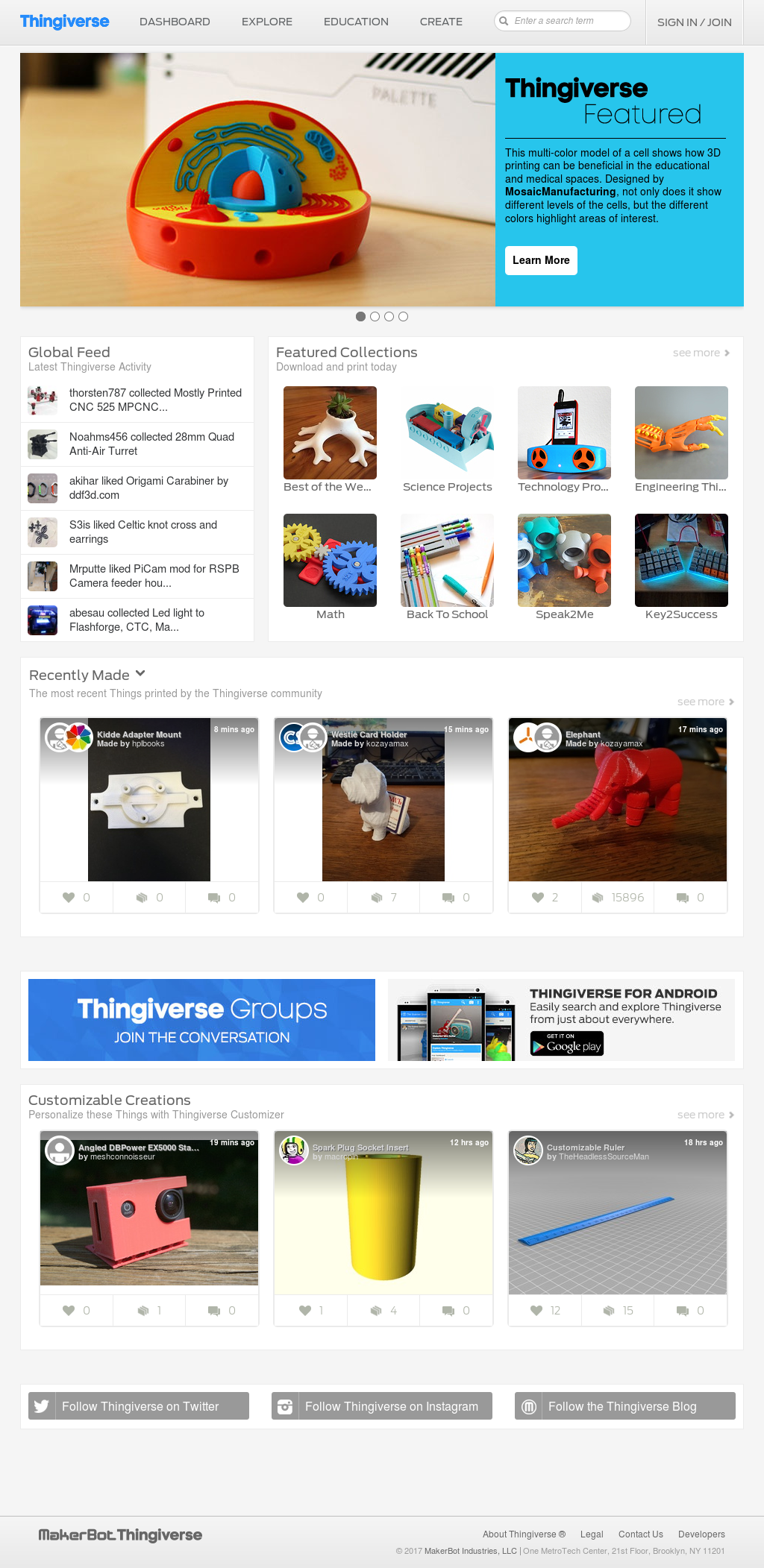 Thingiverse Competitors, Revenue and Employees - Owler